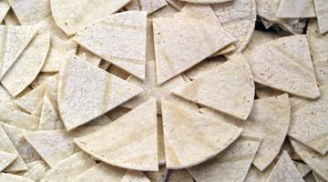Industrial Tortilla Slicing