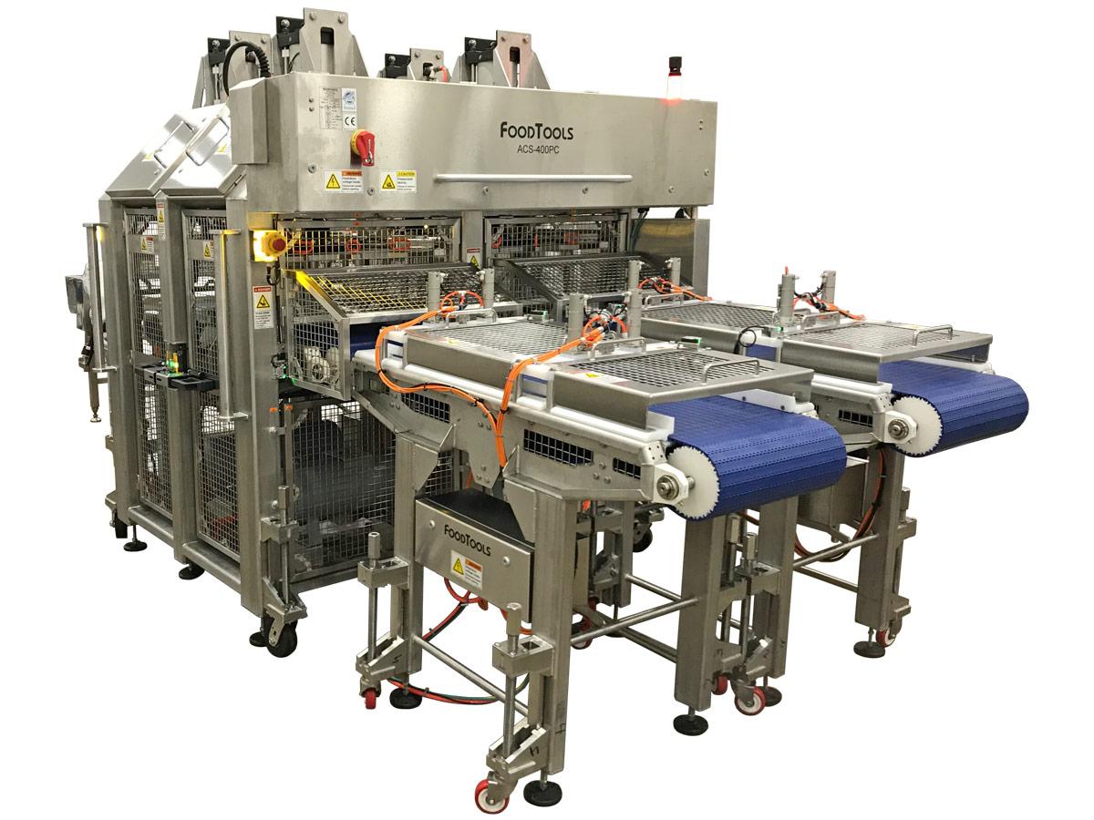 ACCUSLICE-400PC Large Production Pizza Cutting Machine