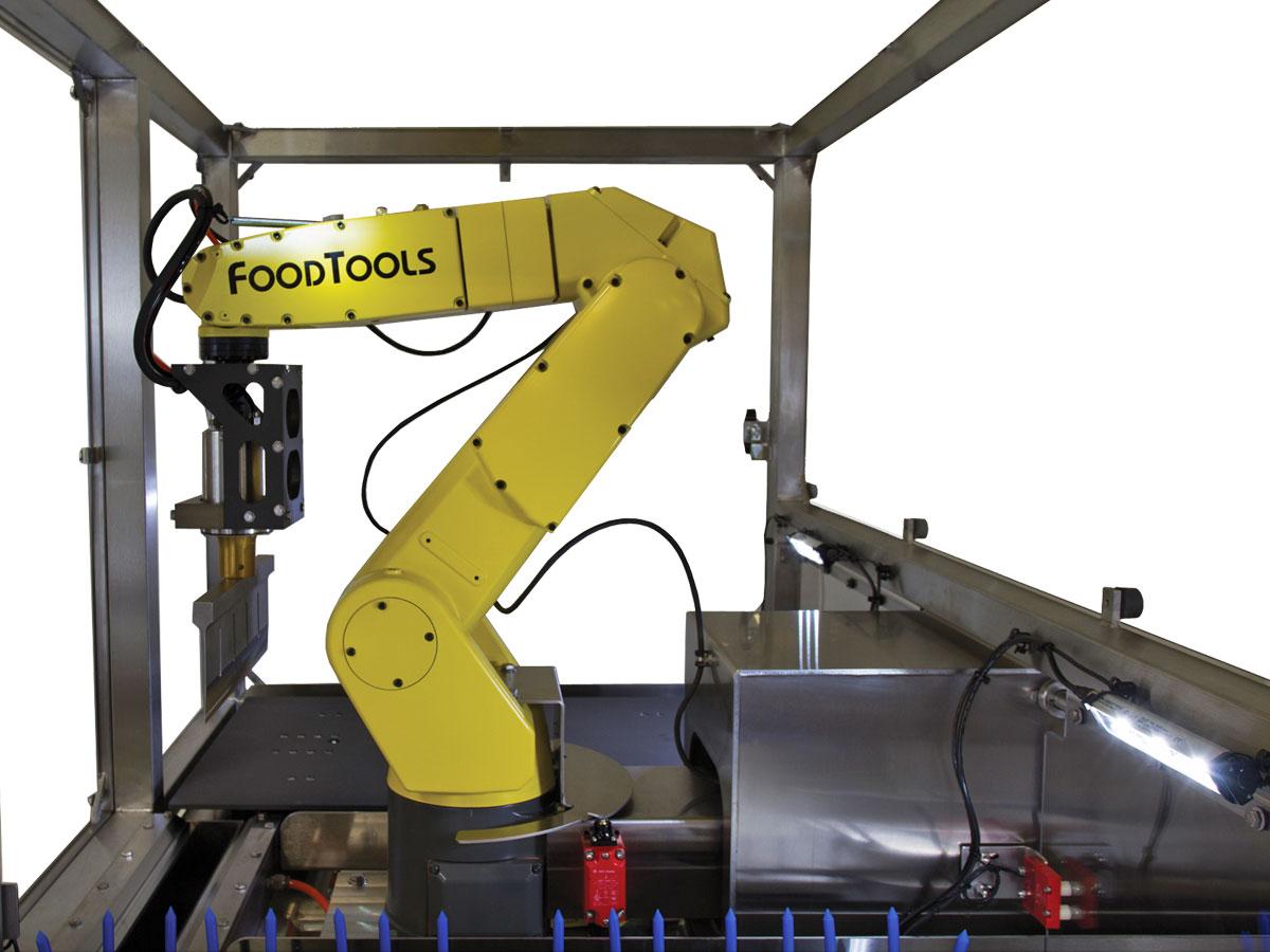 RPS-100D Robotic Ultrasonic Cutting Machine
