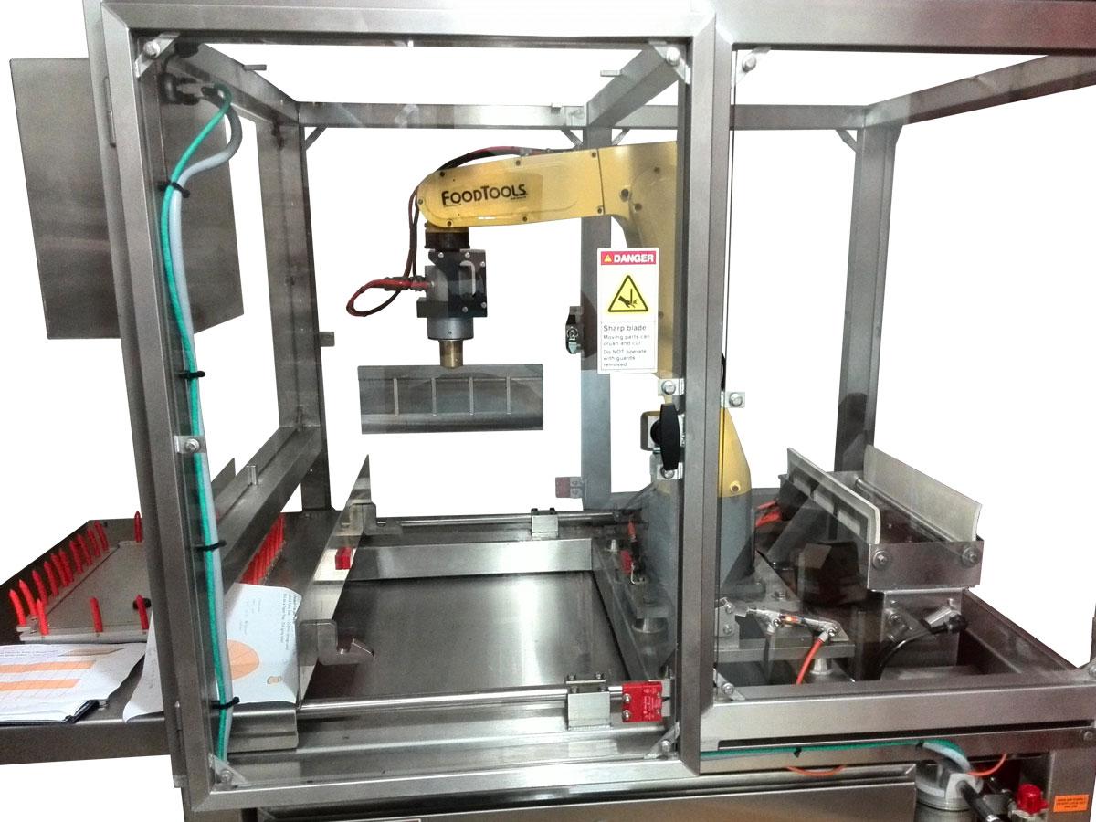 RPS-100S Robotic Ultrasonic Portioning Machine