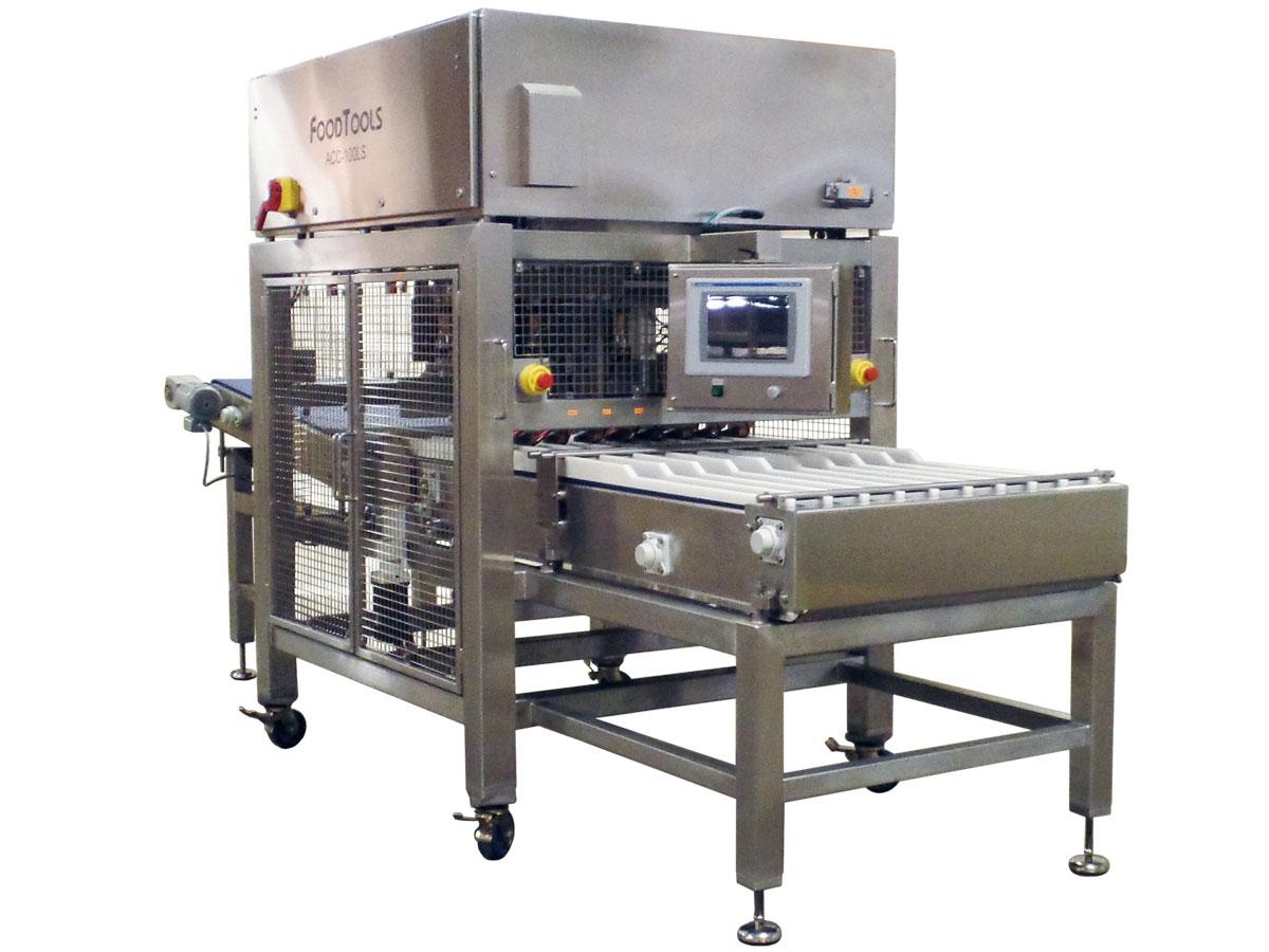 ACCUSONIC-100LS | Inline Ultrasonic Loaf Cutting Machine